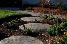Concrete step stones