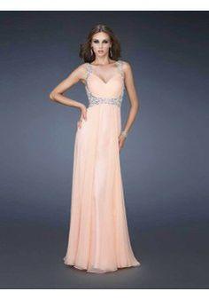 A-line Straps Sleeveless Floor-length Chiffon Evening Dress #FC698 - See more at: http://www.aviva-dress.com/prom-dresses/2014-prom-season.html?p=6#sthash.heOOmkCW.dpuf