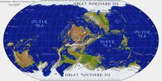 Map: Cirundi by thevizir on DeviantArt Fantasy World Map, Fantasy City, Fantasy Places, Imaginary Maps, Dungeon Maps, Fictional World, City Maps, God Of War, Historical Maps