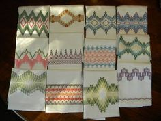 swedish embroidery free patterns | by the yard at the fabric store, and use 6 strands of embroidery ...
