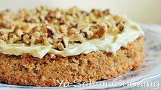 طريقة عمل كيكة الجزر اللذيذة - Mouthwatering carrot cake recipe