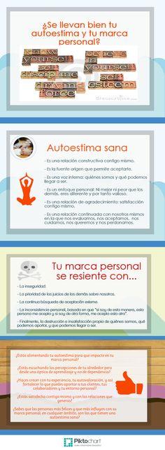 Autoestima y Marca personal #infografia #infographic #marketing