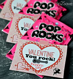 Are you a fan of creative and clever homemade Valentines? If so, you (and your kids!) will love this cute and inexpensive idea. I picked up Pop Rocks candy from my local dollar store (3 packs for $...