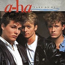 """""""Take on Me"""" is a song by the Norwegian synthpop band A-ha. Written by the band members, the song was produced by Alan Tarney for the group's first studio album Hunting High and Low, released in 1985"""