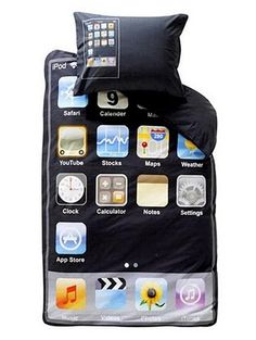iPod Touch bed Sheet