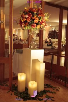 Millenium Festas e Decorações www.milleniumfestas.com.br  #luz #candle #vela #candlelight #decoration #decoracao #casamento #wedding #bride #noiva milleniumfestas.com.br