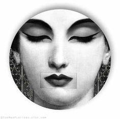 zen no.1, Lina Cavalieri melamine plate