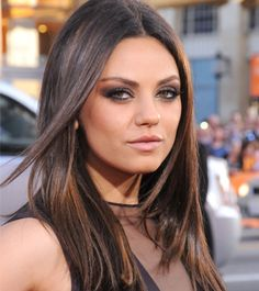 10 New Ways To Rock Straight Hair - Daily Makeover: Straight hair is making a comeback this season. Mila Kunis shows that the only way to pull it off is if it looks healthy. And when does it look healthy? When it has some shine, of course. Add a shine serum, such as Aveda Brilliant Spray On Shine [Sept 2012]