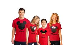 SALE Disney Family Shirts-ON SALE by MinnieMouseBoutique on Etsy