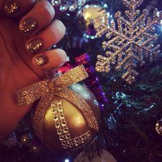DIY Christmas ornament Loveee Sparkle  Glitter ornaments