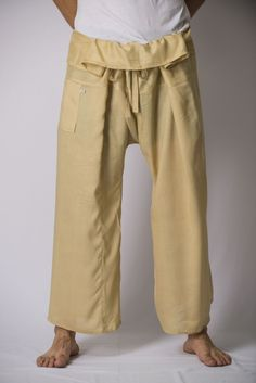 Famous Thai Fisherman pants made from super comfortable rayon fabric.