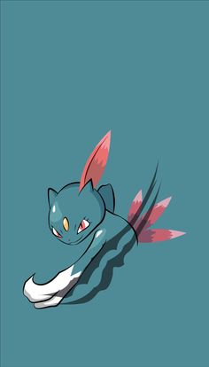 ◾ ( ◾Type - Dark/Ice ━━━━━━━━━━━━━━━━ Sneasel scales trees by punching its hooked claws into the bark. This Pokémon seeks out unguarded nests and steals eggs for food while the parents are away. Pokemon Mug, 150 Pokemon, Cute Pokemon, Hd Cool Wallpapers, Animes Wallpapers, Phone Wallpapers, Pokemon Lock Screen, Pokemon Backgrounds, Mini Canvas Art