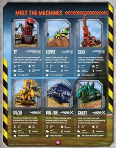 9 pages--- http://skgaleana.com/dreamworks-dinotrux-is-coming-to-netflix/