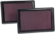 K & N 33-2445 Replacement Air Filter. K & N replacement air filters come with a million mile limited warranty. Their low restriction design helps your car run better as they provide outstanding air filtration.