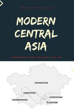Find out what is Central Asia by comparing its various definitions, which five countries make it up and why it is not a travel destination for most tourists Packing Tips For Travel, Travel Hacks, Travel Plan, Travel Guides, Wanderlust Travel, Asia Travel, Asia Map, Airplane Travel, Road Trip Hacks