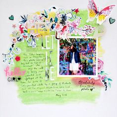 Scrapbooking Ideas Reveal Setting with Color, Shape and Texture   Sian Fair   Get It Scrapped