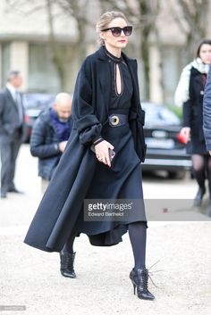 Olivia Palermo attends the Christian Dior show, as part of the Paris Fashion Week Womenswear Fall/Winter 2017/2018, on March 3, 2017 in Paris, France.