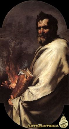 Ribera. 14 profetas para la cartuja de San Martino.1638-43. Elías