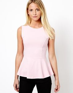 Buy New Look Peplum Shell Top at ASOS. With free delivery and return options (Ts&Cs apply), online shopping has never been so easy. Get the latest trends with ASOS now. New Look Tops, Asos, Shell Tops, Shirt Jacket, Fashion Online, Peplum, Classy, My Style, Shopping
