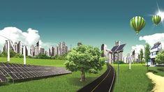 yenilenebilir enerji Golf Courses