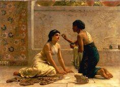 An Ancient Custom (1877) by Edwin Longsden Long