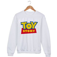 Toy Story logo Sweater sweatshirt unisex adults size by mengeluhh