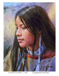 Native American Artists Paintings | David Yorke Western Artist New Originals and Prints Available. Artist ...