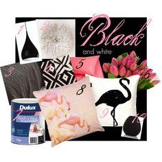 The Brodricks go live, 365!: Mood board Monday {Black and white}