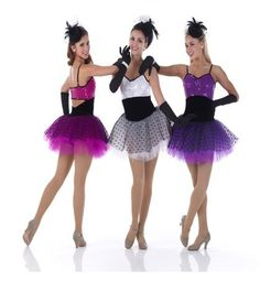 WHOLESALE ORDERS ONLY!!!! This is a beautiful stage costume, very versatile that can be used in many choreographies. It features a sequin bodice attached to a black leotard and a tulle mini skirt. The