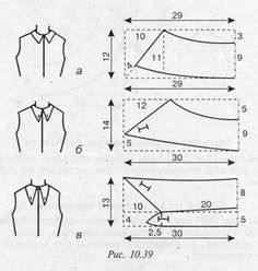 Rok Cats – …we love cats. Sewing Basics, Sewing Hacks, Sewing Tutorials, Dress Sewing Patterns, Clothing Patterns, Sewing Clothes, Diy Clothes, Sewing Collars, Sewing Lessons