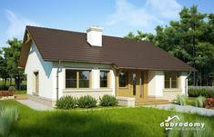 Flawia Mała - Dobre Domy Flak & Abramowicz Malaga, Planer, Ideas Para, Shed, Outdoor Structures, Outdoor Decor, House, Home Decor, Templates