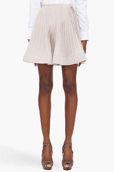 silk blend ballet skirt.