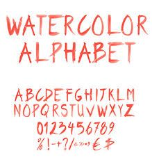 watercolor fonts - Google Search Free Watercolor Font, B Tattoo, Typography Inspiration, Handwriting, Vector Art, Alphabet, Fonts, Letters, Graphic Design