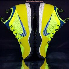 Nike Mens Lunar Incognito Trainers Yellow/Blue sz 9 ACG Flywire Sneaker US 10 44 | eBay