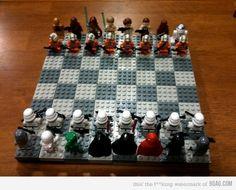 Star Wars Lego Chess Board