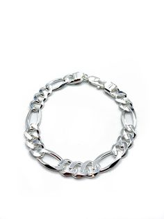 0.64 MM STYLE 2 50 CM STERLING SILVER STRONG FINE BEADING CHAIN