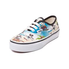 2af34496e96390 Youth Disney and Vans Authentic Mickey Skate Shoe Kid Shoes
