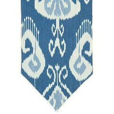 Your table gets an update with a fab ikat table runner. | $145