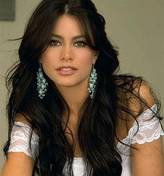 Sofia Vergara! What I would do just to take you out to dinner. :)