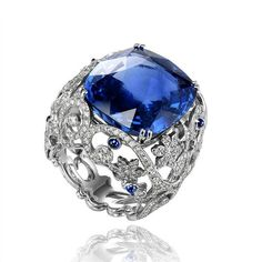 """@frenchbluediamond on Instagram: """"- CHOPARD -"""" High Jewelry, Jewelry Rings, Jewelry Box, Vintage Jewelry, Bridal Jewelry, Harry Winston, Sapphire Jewelry, Sapphire Diamond, Blue Sapphire"""