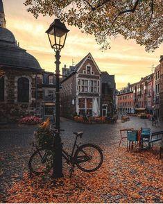 Autumn Memories - Aachen, Germany 🇩🇪🍂 📷 by: Joanne Howard Schleker. - Autumn Memories – Aachen, Germany 🇩🇪🍂 📷 by: Joanne Howard Schleker. Autumn Aesthetic, City Aesthetic, Travel Aesthetic, Beautiful World, Beautiful Places, Wonderful Places, Wonderful Picture, Simply Beautiful, Beautiful Pictures