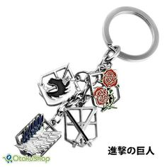 Attack on Titan Key Chain Shingeki no Kyojin Products