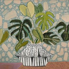 Philodendrons for Parker - 24X24