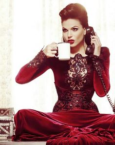 Evil never takes a break. Regina the Evil Queen ©®™2013 ABC Companies Once Upon A Time