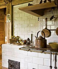 Vidéki öröm egy faházban  Hangulatos, ízléses igazi kis country stílusú faház Lengyelországból.