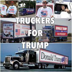 Truckers For Trump  GOD BLESS AMERICA ~@guntotingkafir
