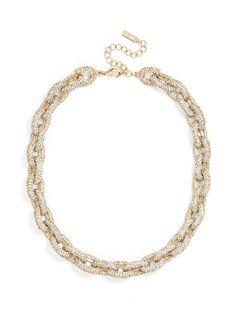 Original Pavé Links Strand Necklace
