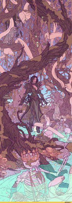 Alexei Konev,art,арт,красивые картинки,art девушка,Fantasy,Fantasy art,странные картинки