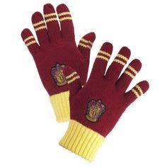 Gryffindor™ Striped Gloves
