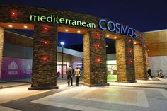 It is one of the largest Shopping Malls in northern Greece, with 200 shops, 30 cafés and restaurants and brand names, a city within the city, of. Shopping Malls, Thessaloniki, Cosmos, Greece, Restaurant, Travel, Therapy, Greece Country, Viajes